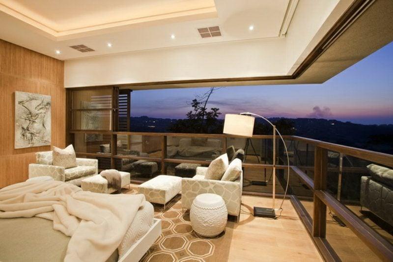 Traumhaus Afrika Wohnzimmer