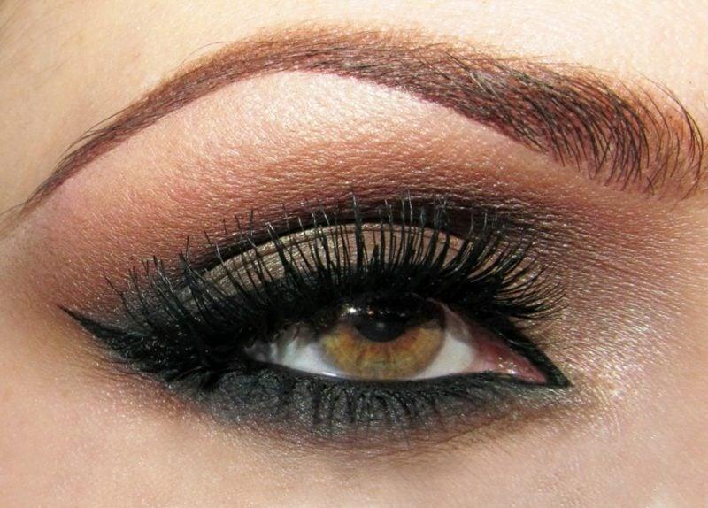 Augen Make-up Anleitung Smokey Eyes