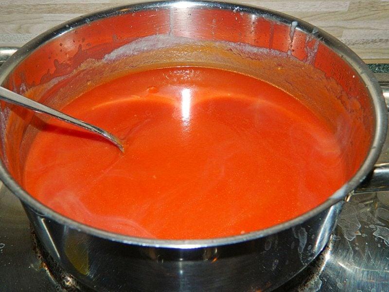 Tomatensoβe mit Thermomix kochen