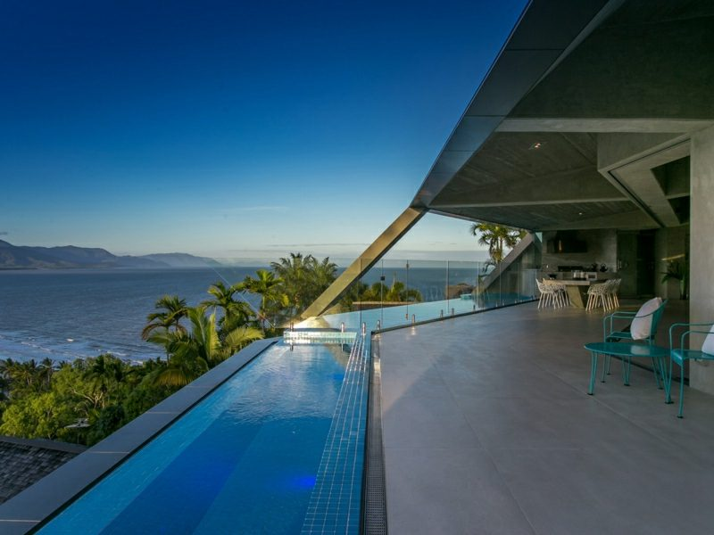 neue Häuser Australien The Edge grosser Pool
