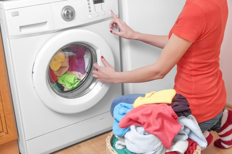 Waschmaschine Zeichen