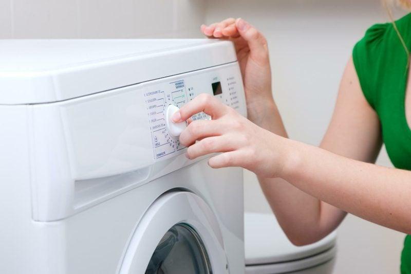 Waschmaschine Zeichen Pflegehinweise