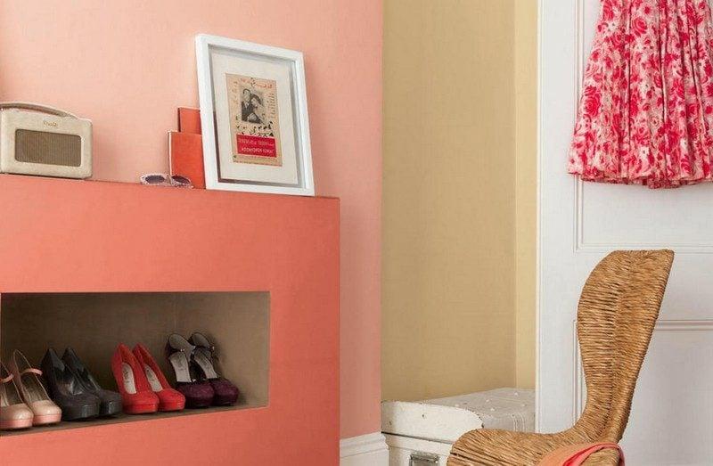 Wand streichen Ideen Beerenfarben Pastellnuancen