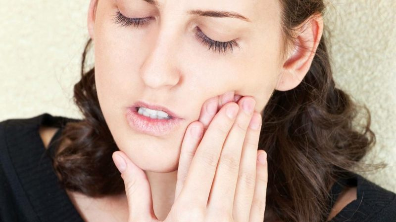 starke Zahnschmerzen