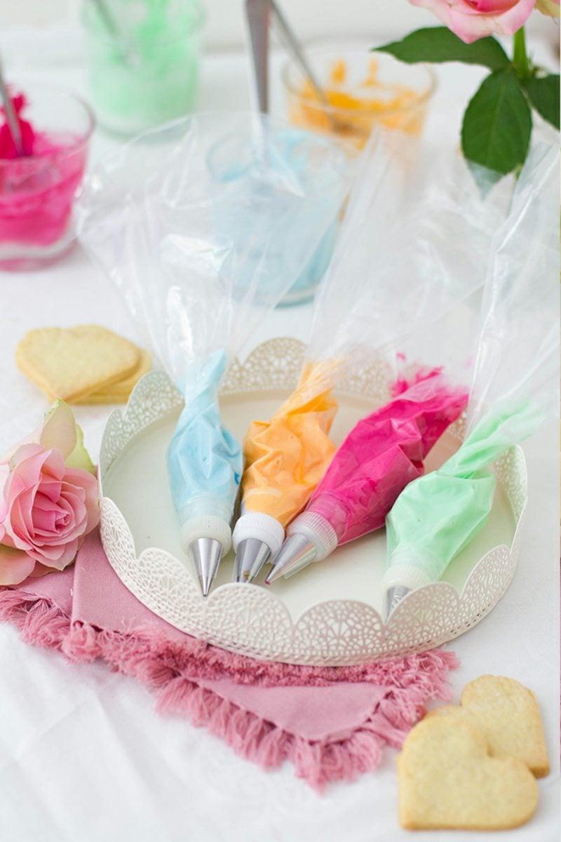 Glasur selber machen farbig
