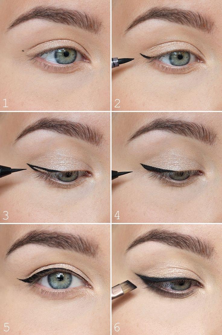 Der richtige Lidstrich für Ihre Augenformen