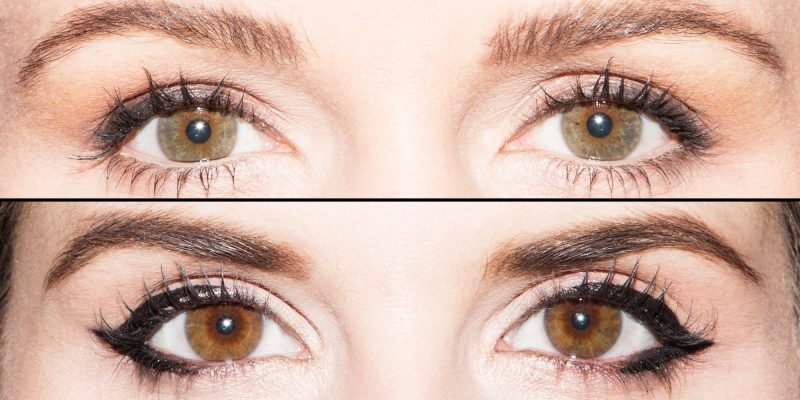 Augen großer schminken