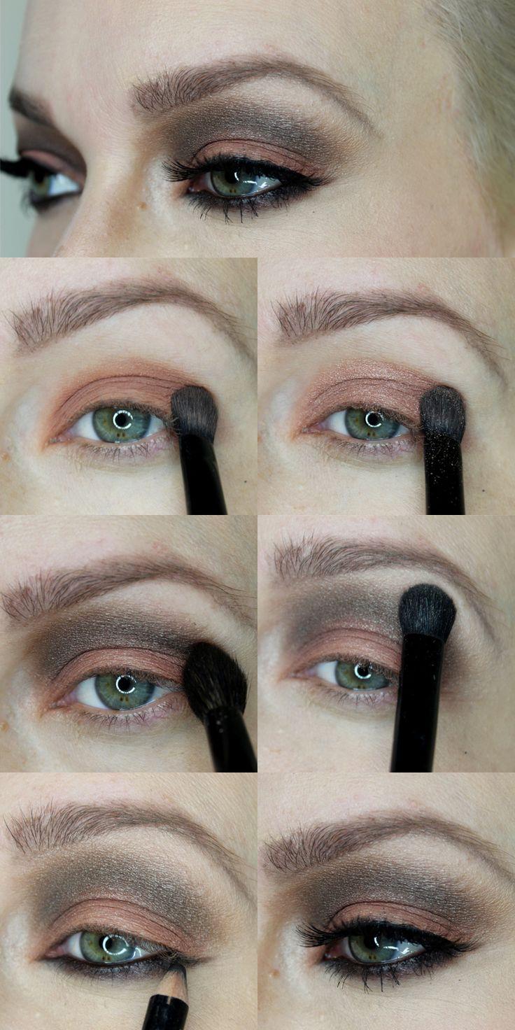 Große Augen schminken