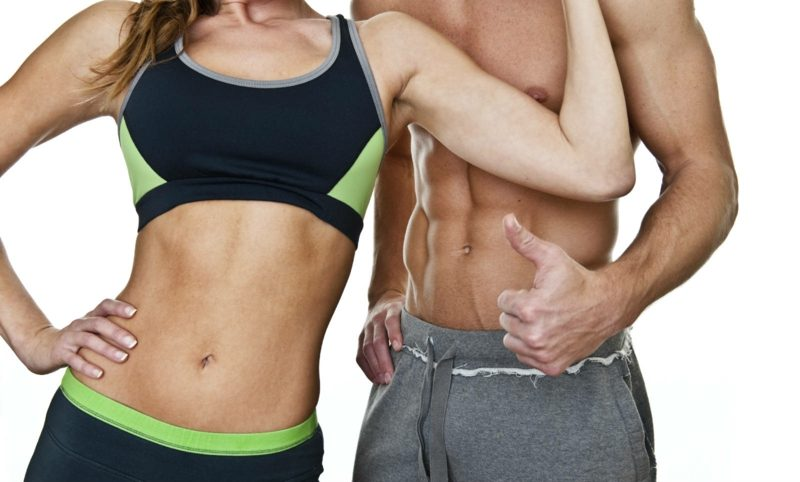 workout übungen flacher bauch