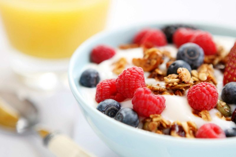 bauchfett abnehmen mit frühstück
