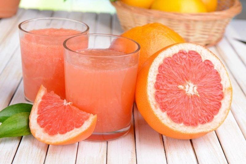 grapefruit detox drink bauchfett abbauen