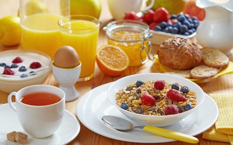 frühstück gesund fett abbauen