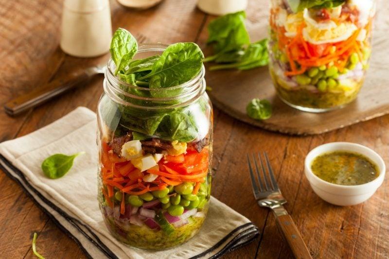 salat essen bauch weg