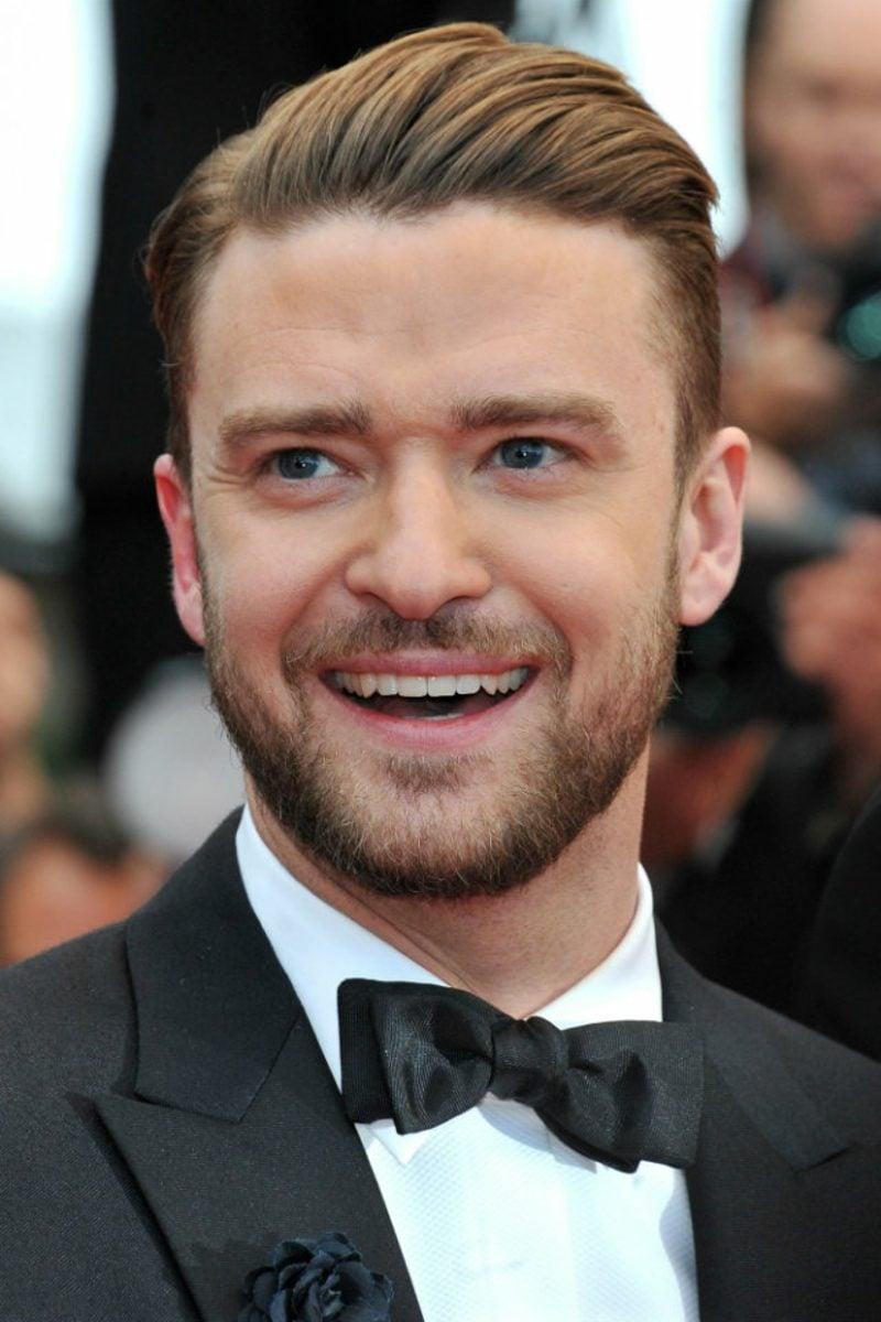 Frisuren 2017 Männer Sleek Look Justin Timberlake