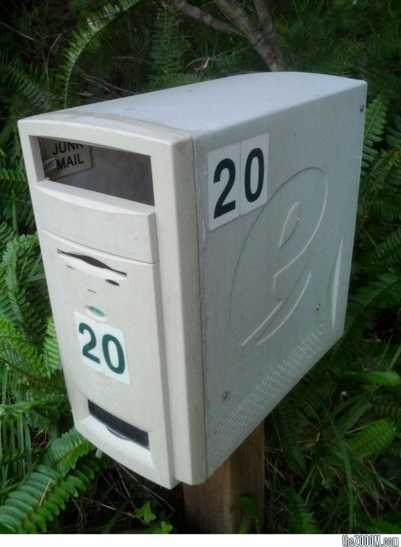 Briefkasten aus altem Computer! Das haben Sie bestimmt niemals gesehen!