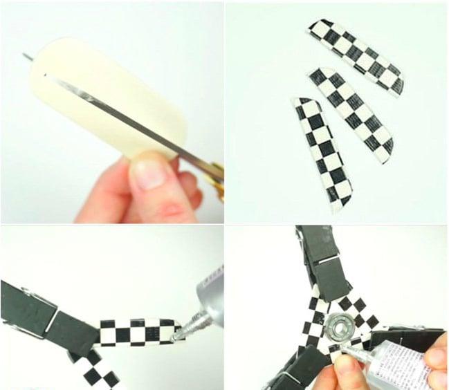 Fidget Spinner aus Papier selber machen