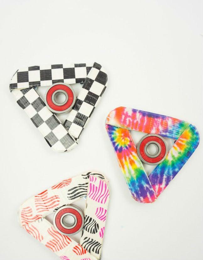 Fidget Spinner aus Papier