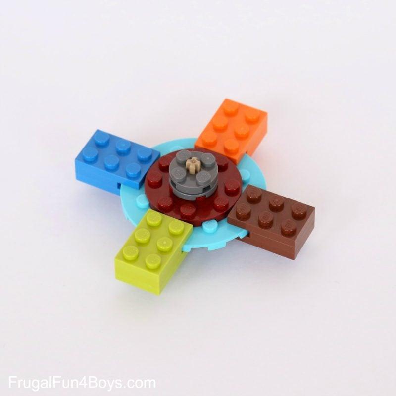 Fidget Spinner aus Lego