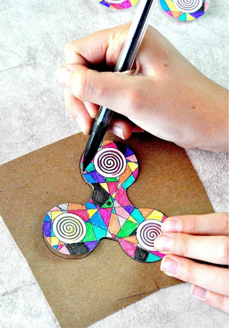 Fidget Spinner selber machen