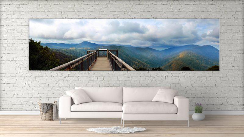 Panoramabilder auf Leinwand - damit Sie Urlaubsflair direkt ins Haus bringen