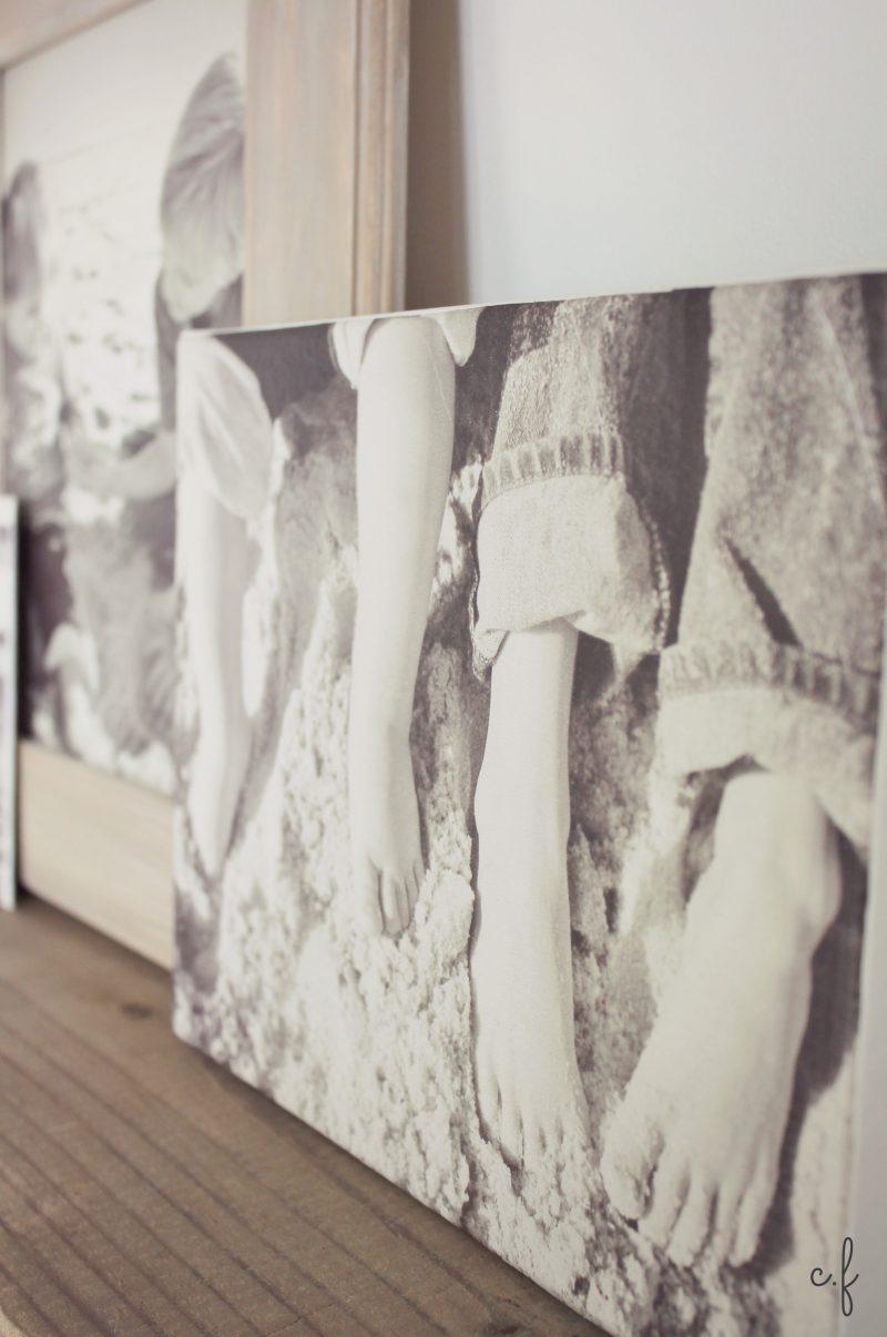 Foto auf Leinwand als Wanddekoration