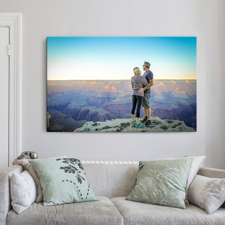 Foto auf Leinwand: Ihre Erinnerungen in einem wunderschönen Fotorahmen!