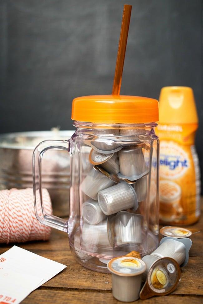 Kreatives Geschenk für Lehrer, die gerne Kaffee trinken!