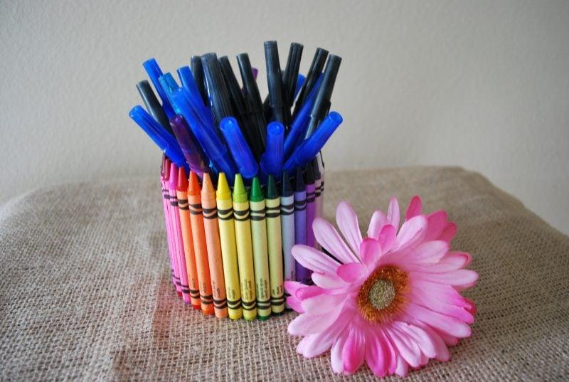 Geschenke aus Schulmaterialien