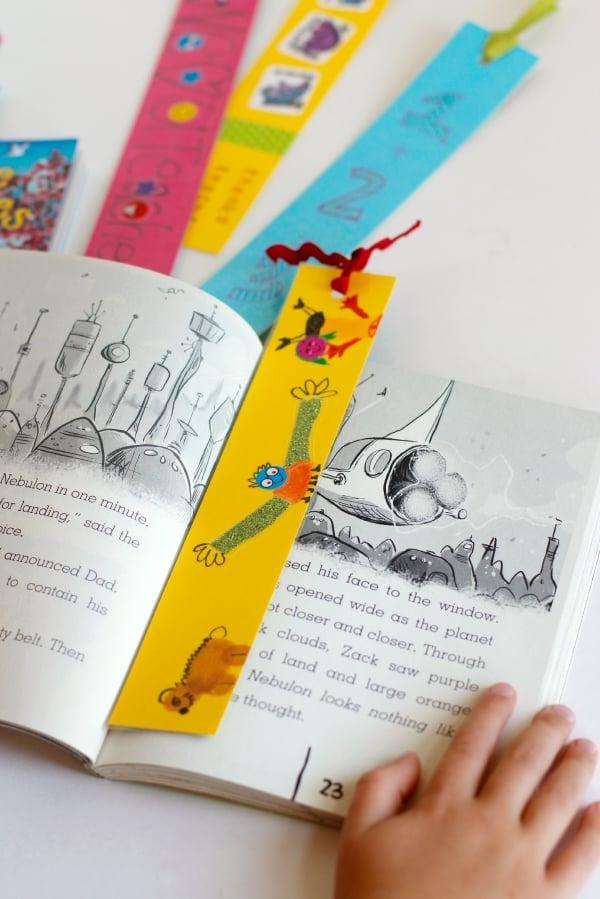 Das beste Geschenk, das für Lehrer, Erwachsene und Kinder eignet - Lesezeichen selber machen