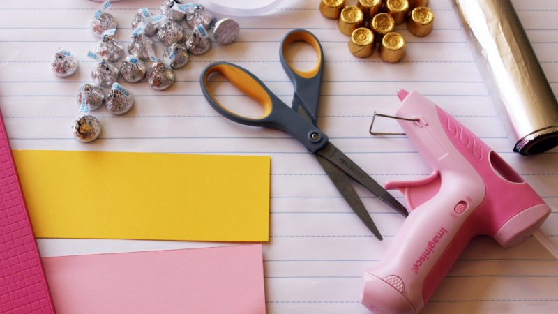 Kreative DIY Idee für Geschenk zum Schulanfang - Anleitung