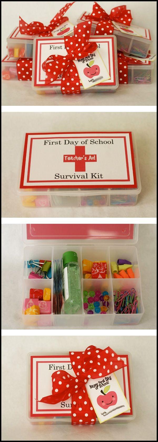 Geschenk zur Einschulung Survival Kit
