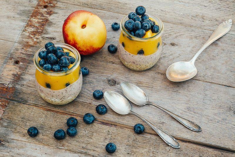 Rezepte mit Heidelbeeren gesund kalorienarm