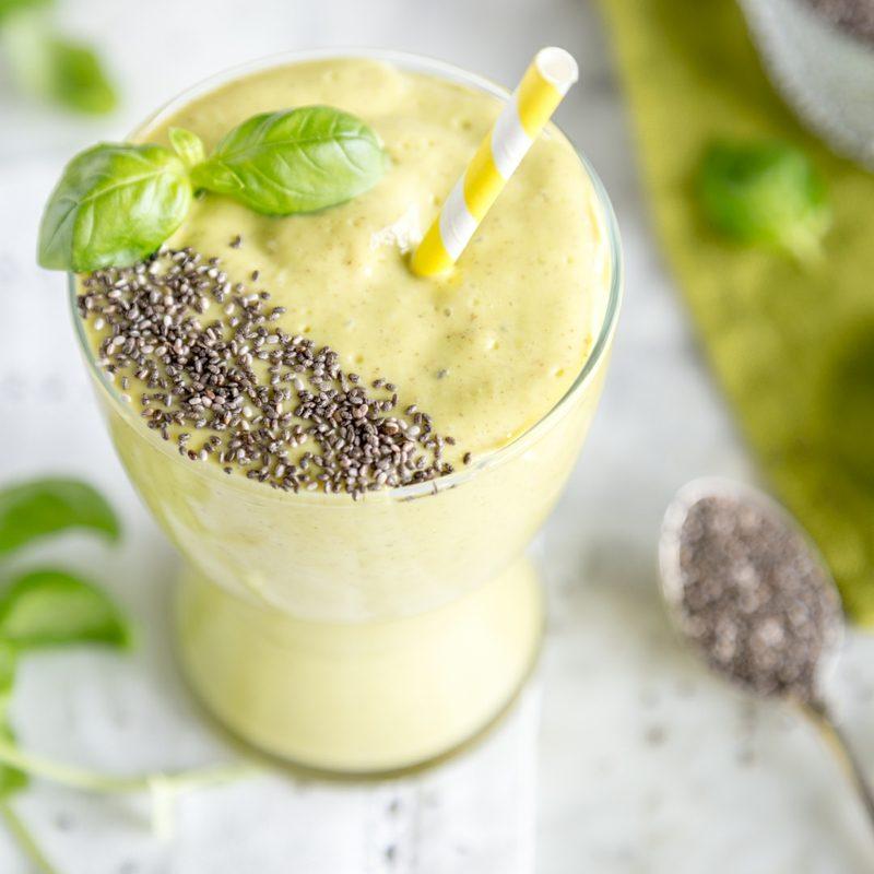 Chia Proteinshake Rezept