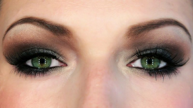 Schminken hilfreich Tipps Smokey Eyes
