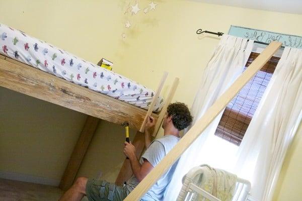 hochbett selber bauen anleitung beste bildideen zu hause design. Black Bedroom Furniture Sets. Home Design Ideas
