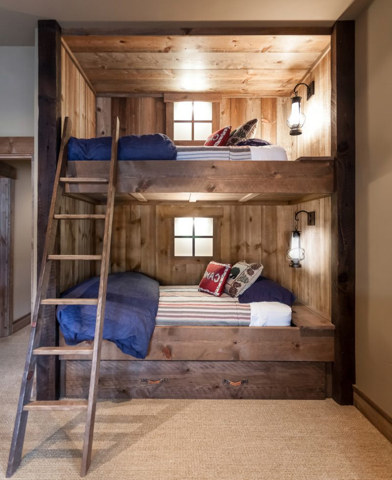 Bunk Bed Over Rv Dinette