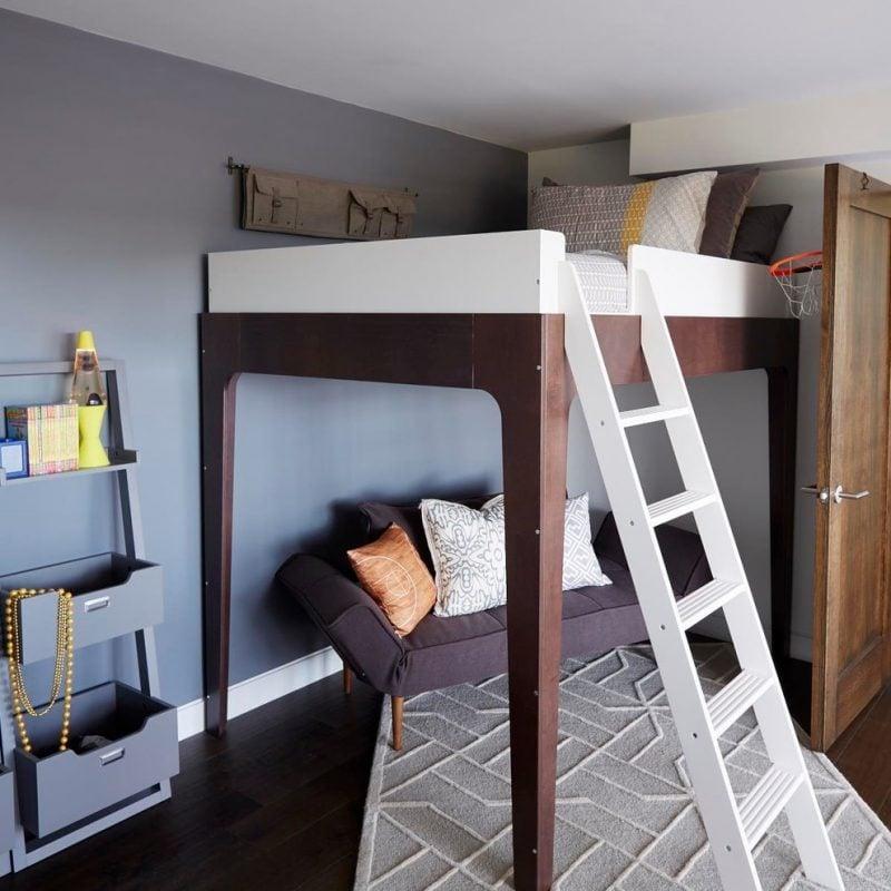 Hochbett Erwachsene für kleine Zimmer einrichten