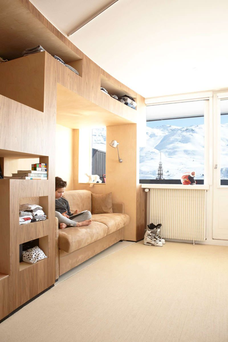 Hochbett Doppelbett Kinderzimmer einrichten