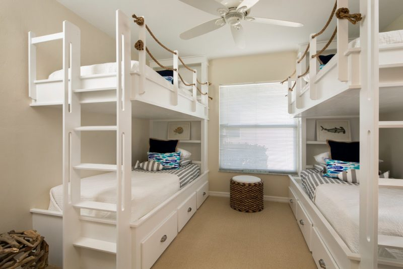 Hochbett bauen Kinderzimmer
