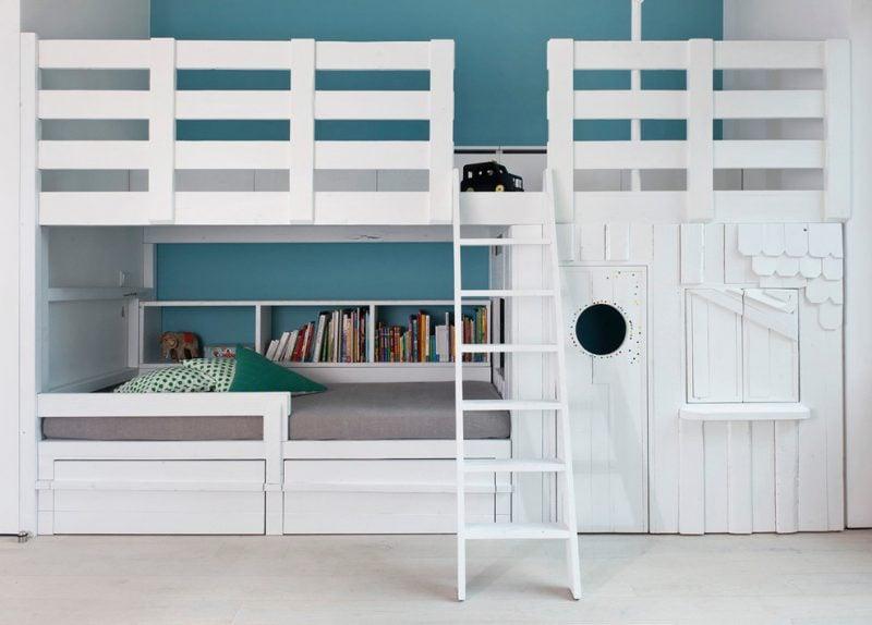 Hochbett für Erwachsene und Kinder