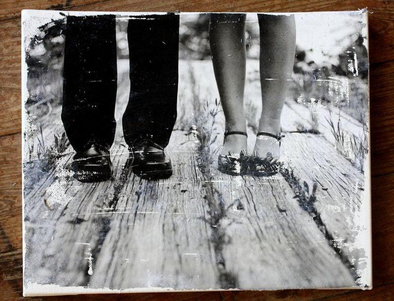 Foto auf Leinwand selber machen