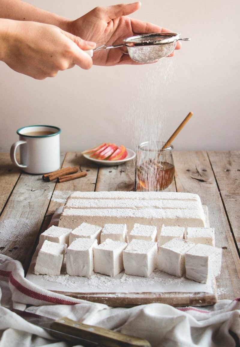 Marshmallow Apfelsaft Rezept