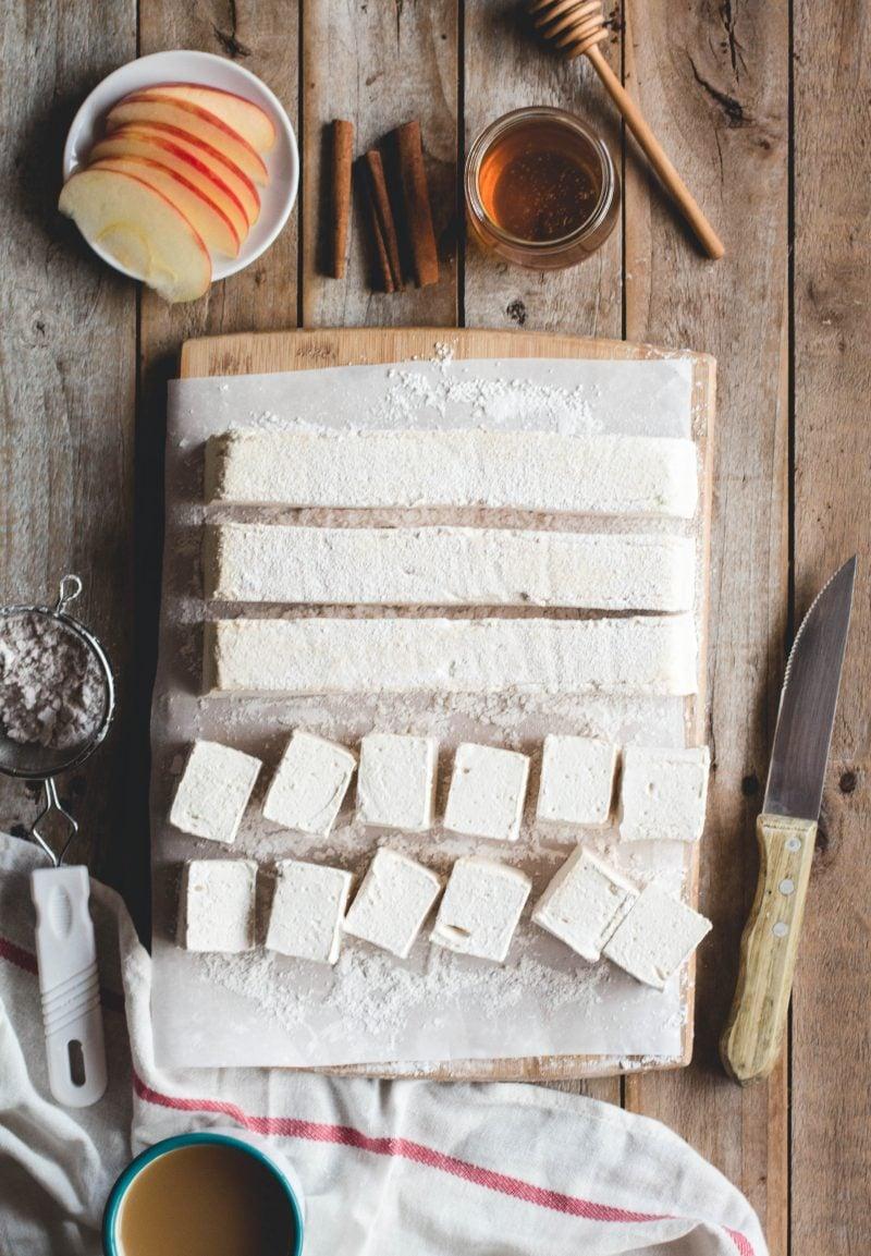 Marshmallow Apfelsaft