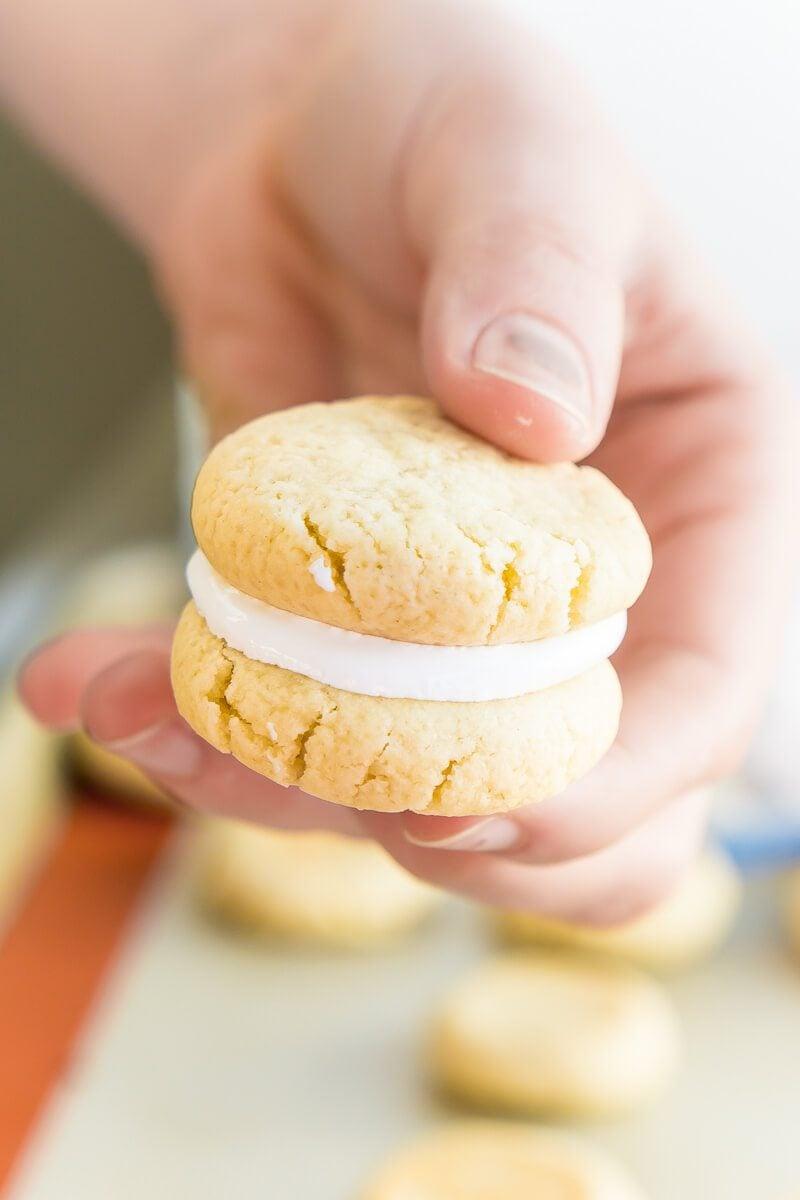 Marshmallow Kekse