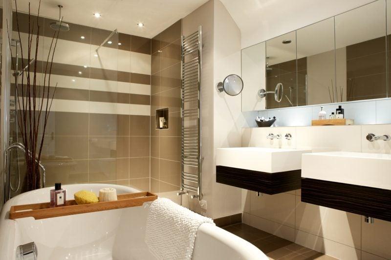 Badezimmergestaltung Mit Einbaudusche