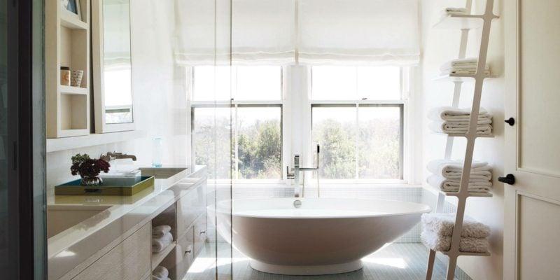 freistehende badewanne moderne bäder