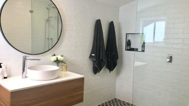 kleines badezimmer gestaltung