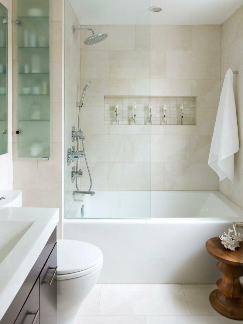 kleines bad einrichtung modern