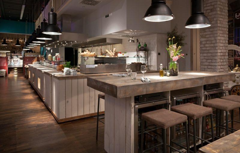 offene Küchen Einrichtungsideen