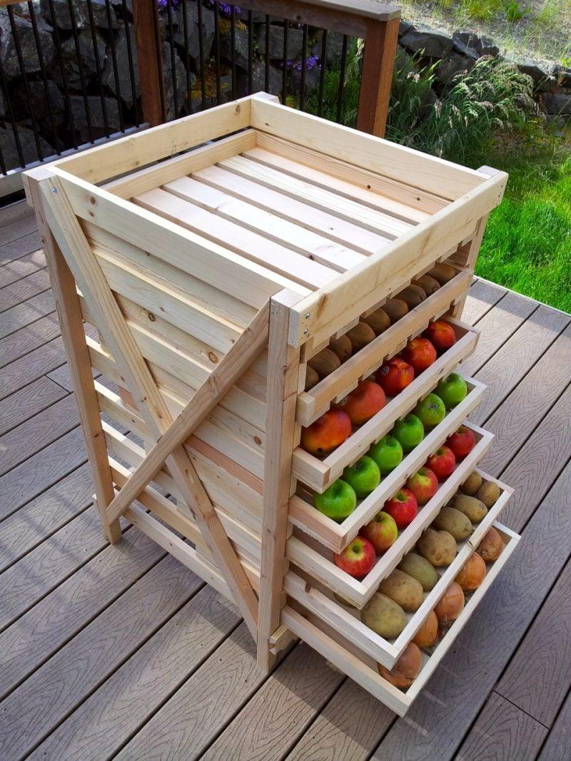 Regal selber bauen für den Garten